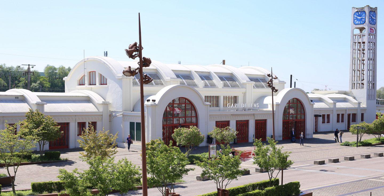 Gare de Lens, modèle Art déco