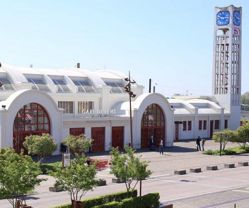 La gare de Lens
