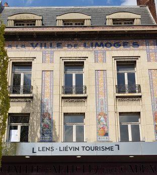 Façade de l'office de tourisme de Lens-Liévin