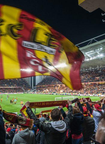 Le sens de la fête au stade Bollaert ©RC Lens