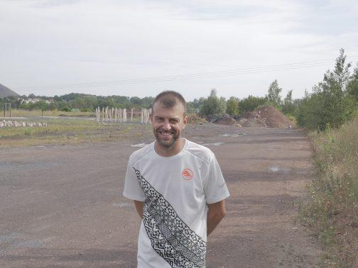 Laurent Lempereur responsable des animations de l'Arena Terril Trail