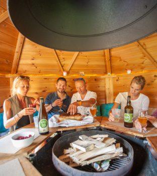 Séjour entre amis dans un kota finlandais