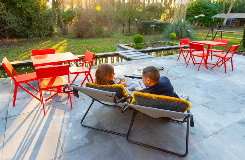 Détendez-vous sur la terrasse ©CRT Hauts de France.