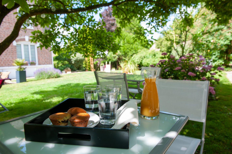 Profitez du jardin pendant l'été à L'Heure Bleue © Pidz / OTLL