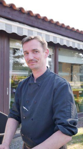 Christophe chef du restaurant du Lensotel