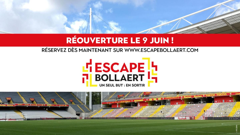 Reprise de l'escape Bollaert