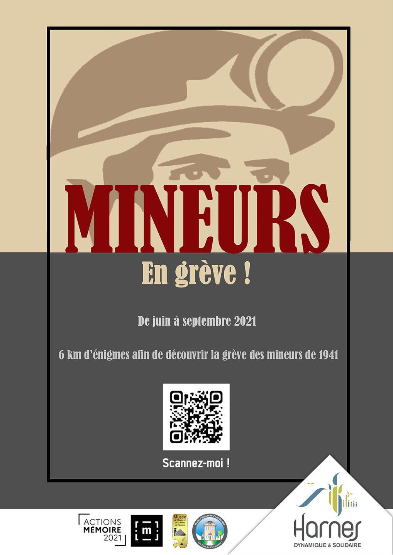 Mineurs En grève ! à Harnes