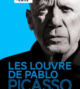 Affiche de l'exposition Les Louvre de Pablo Picasso