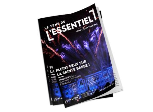 Couverture du magazine Le Sens de l'Essentiel Automne/hiver 2021