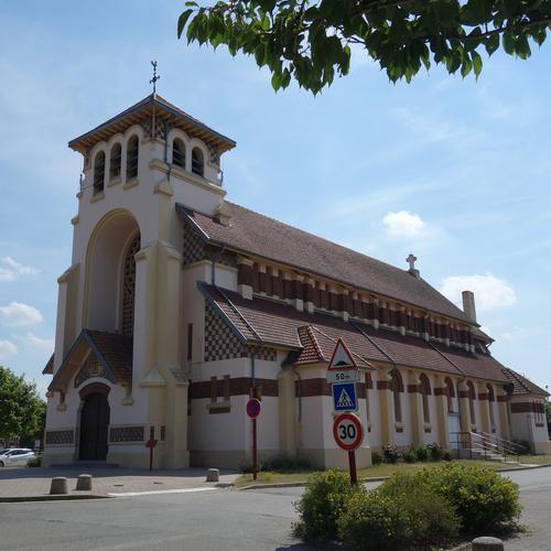Eglise Sainte-Marguerite de Sains-en-Gohelle ©CALL