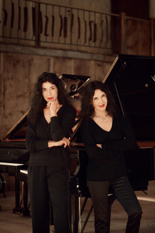 Katia et Marielle Labèque pour le récital « Nos Enfants Terribles » dans le cadre du festival Muse & piano