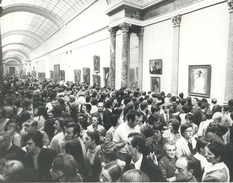 Pierre Colacicco_Exposition Picasso de 1971 dans la Grande Galerie_Photographie_Paris, musée du Louvre © DR